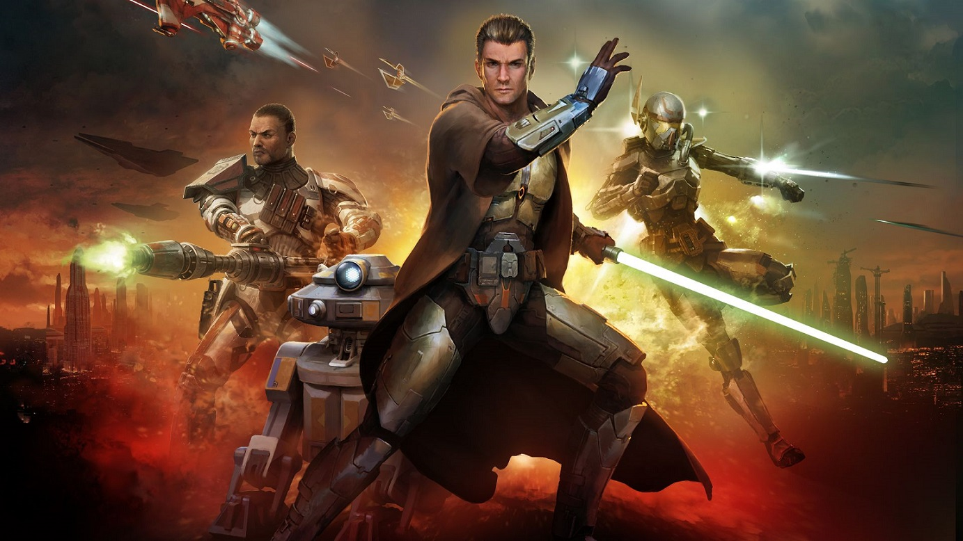 В Steam вышла Star Wars: The Old Republic  бесплатная игра по Звездным войнам