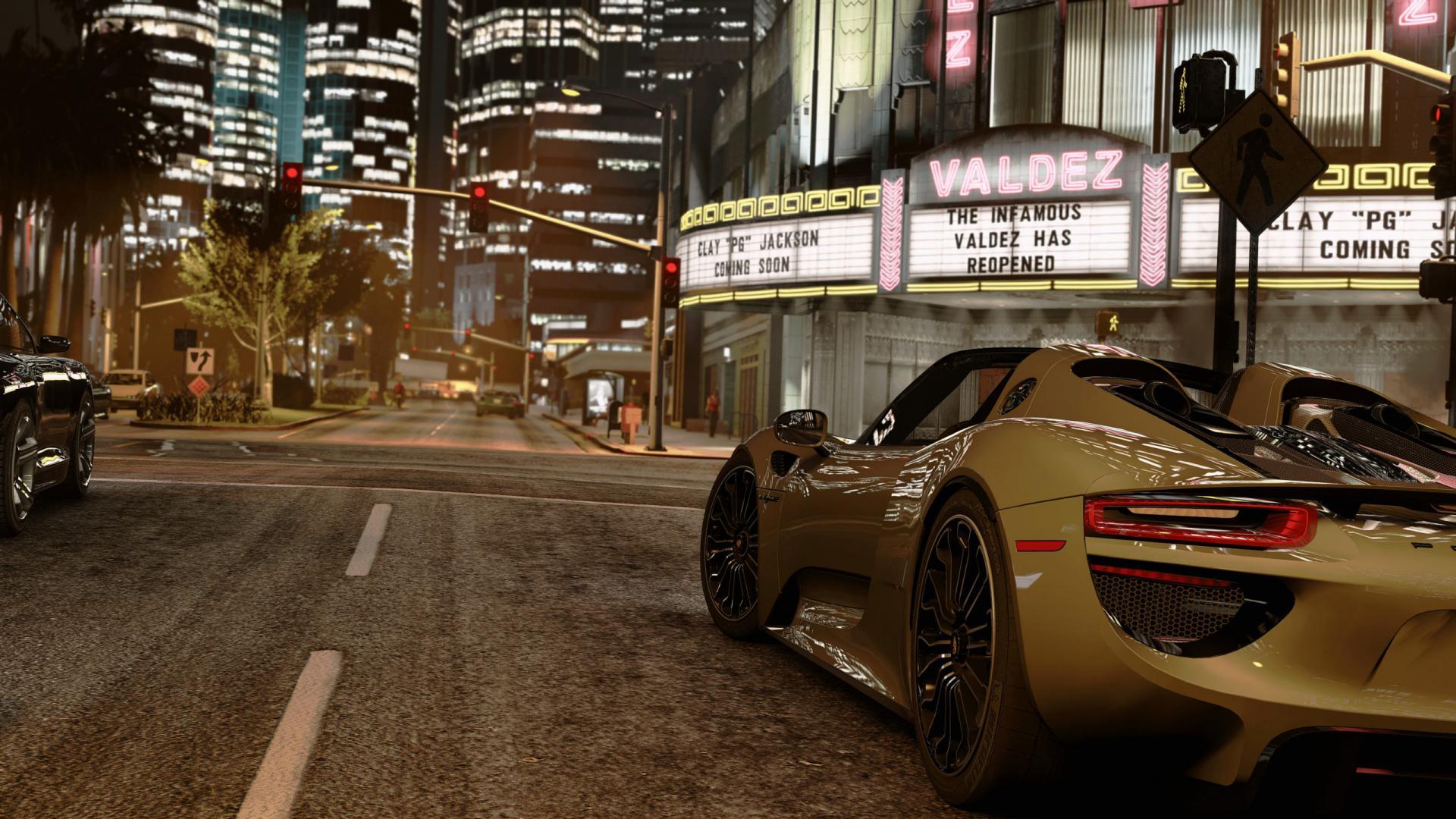 Графику GTA 5 вывели на новый уровень. Игру показали в 4К и с трассировкой лучей
