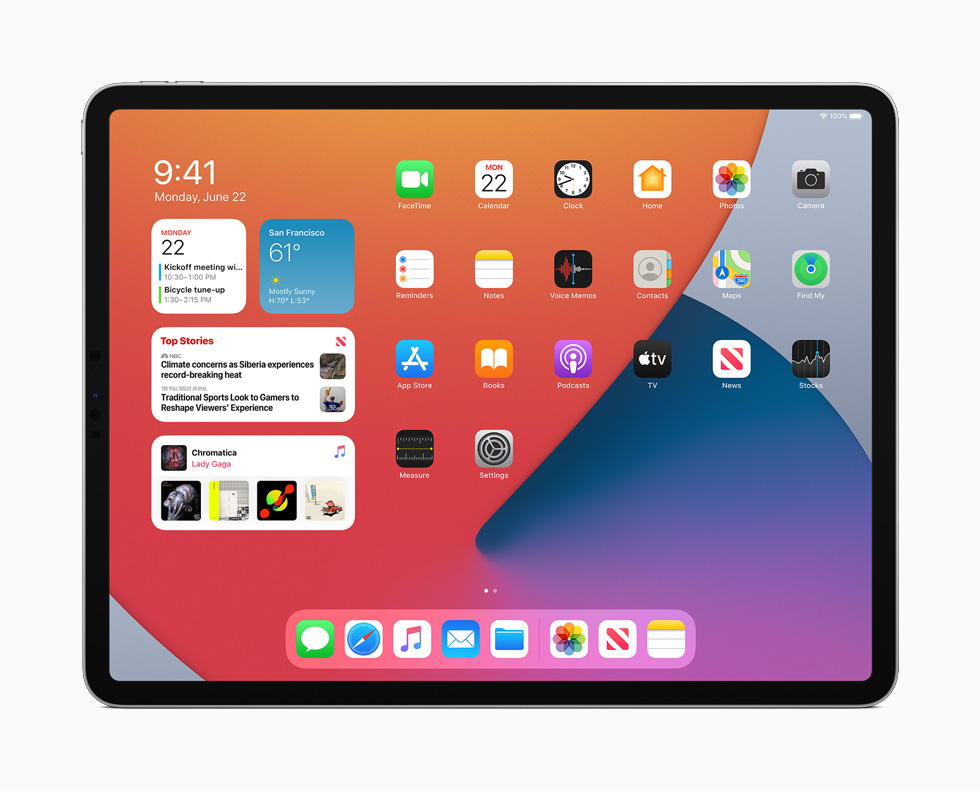 Apple представила новую iPadOS 14: обновленный интерфейс, компактность и новые возможности с Apple Pencil