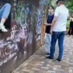 В Ставрополе застукали вандала в парке