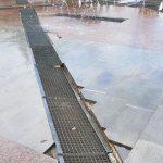 В Ессентуках провалился сухой фонтан