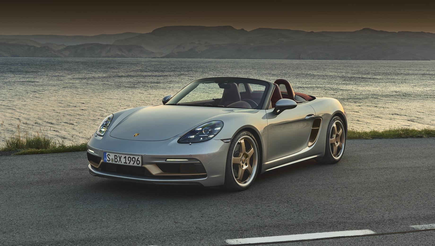 Porsche Boxster 25 Years напомнил о концепте-прародителе
