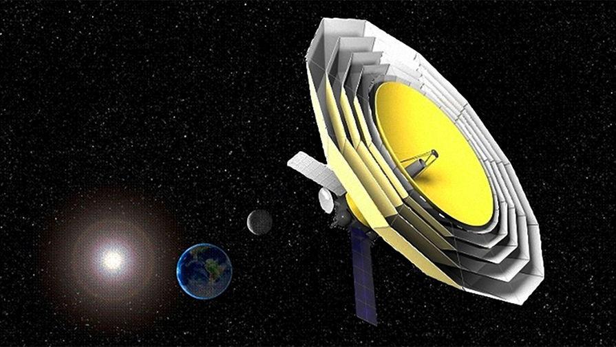 В РАН сообщили о переносе запуска 'Миллиметрона' 'за горизонт событий'