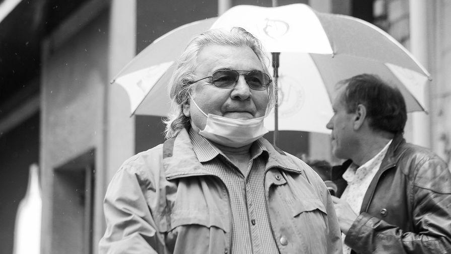 'Забрали с бронхитом': сын Багдасарова — о самочувствии артиста перед смертью
