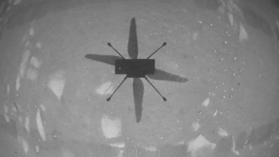 НАСА: марсианский вертолет Ingenuity не смог подняться в воздух