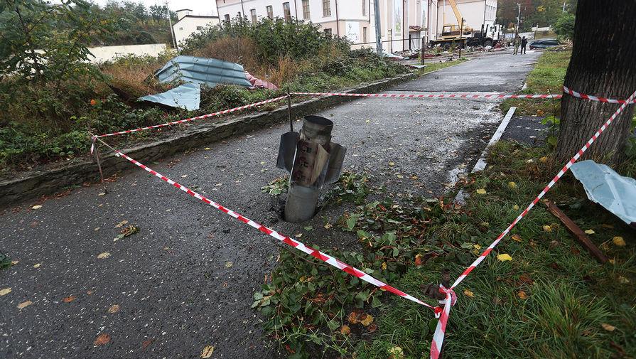 Мэр карабахского города Мартуни заявил, что обстрелы повредили 80% зданий