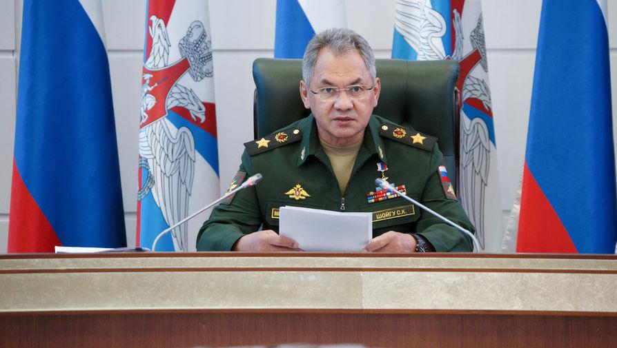 Шойгу заявил о полном разминировании Лачинского коридора в Карабахе