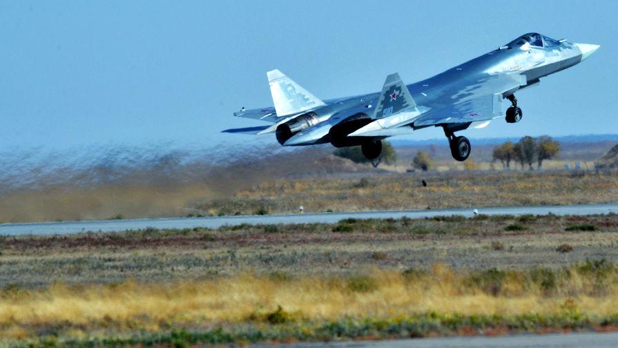 ВКС России получат два серийных Су-57 в этом году