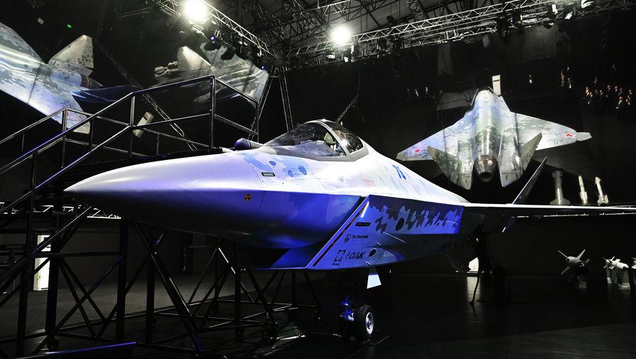 'Сухой' официально представил новый истребитель пятого поколения