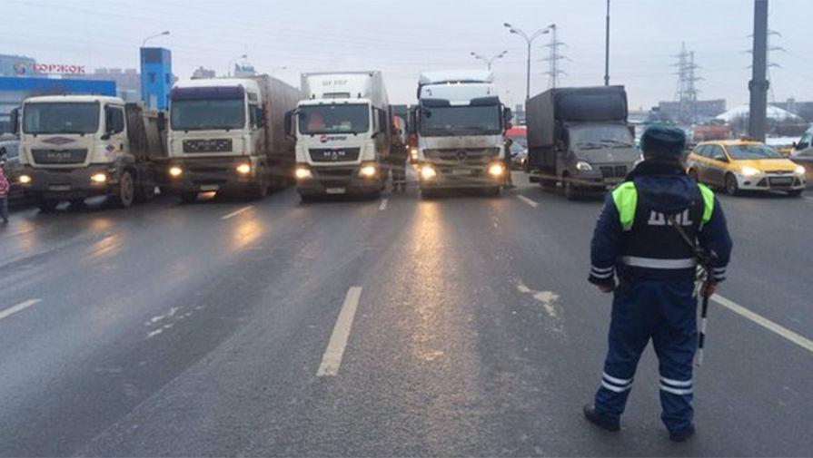 В Москве отложили ввод ограничений для грузовиков на МКАД