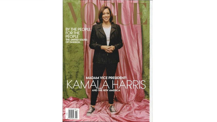 Пользователи соцсетей раскритиковали обложку Vogue с Камалой Харрис