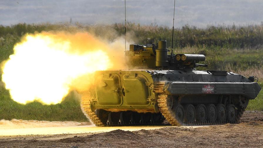 Россия направит на военную базу в Таджикистане модернизированные БМП-2М