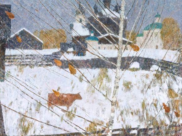 В Петербурге открылась выставка Геннадия Яндыганова «На родной земле»
