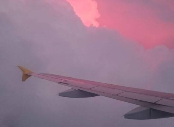 В США пассажирский самолет начал разваливаться в воздухе (видео)