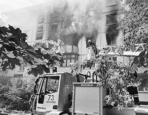 Названо число погибших и пострадавших при взрыве и пожаре в Москве