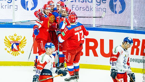 Сборная России по хоккею досрочно выиграла Евротур