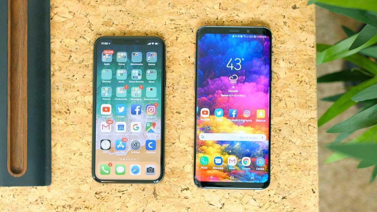 Samsung Galaxy S21+ впервые сравнили вживую с iPhone 12 Pro Max