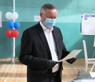 Руководители Петербурга проголосовали за поправки в Конституцию