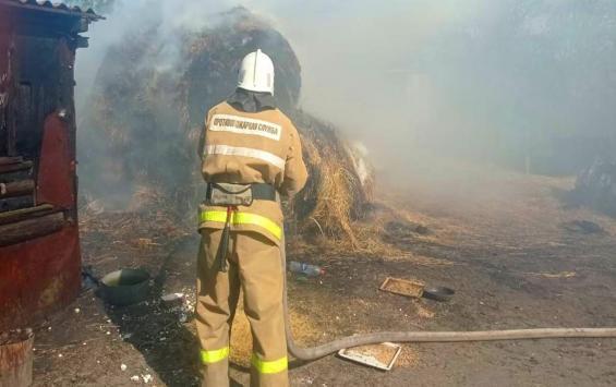 Шестилетний мальчик устроил пожар в Черемисиновском районе