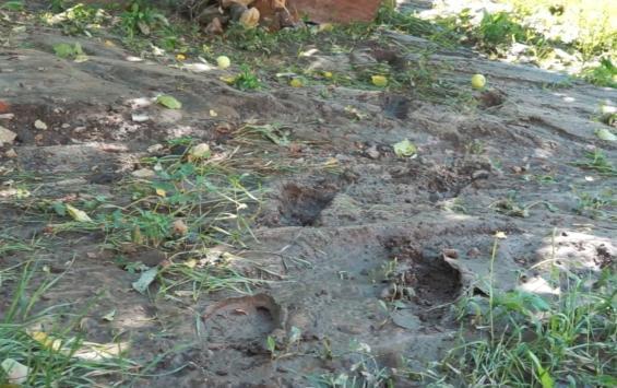 Канава раздора: последствия дождей на улице Степана Разина