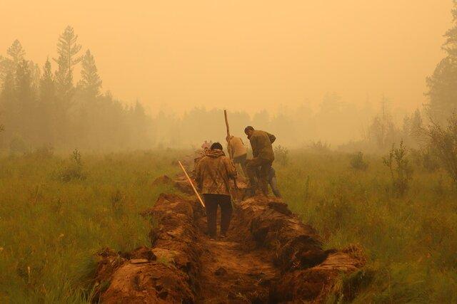 Якутия в огне. Площадь пожаров превысила 1,5 миллиона гектаров. Столица республики окутана дымом. Фото и видео