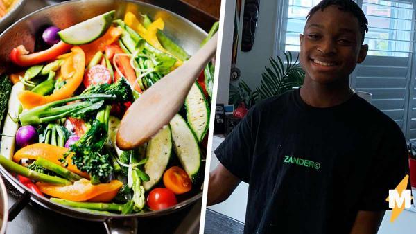 Подросток ударился в кулинарию, и Гордону Рамзи пора напрячься. Ведь от стола юного повара текут слюнки
