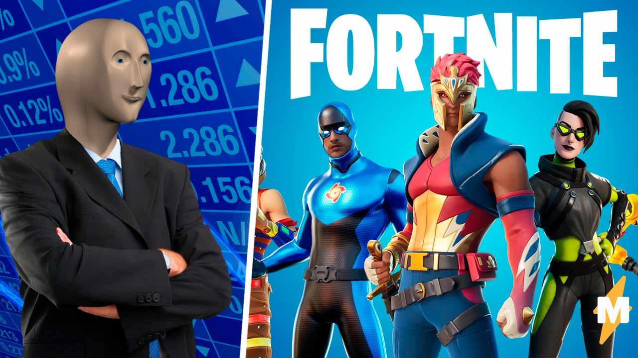 Они купили? Обваливайте акции. В Fortnite появился Стонкс, и геймеры уже шутят про крах рынка мемов