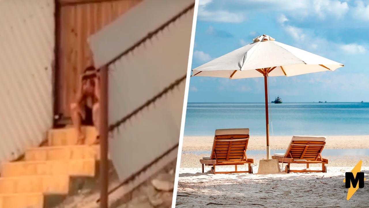 Девушка в Дагестане засняла мужчину с биноклем на видео. Он пришёл на специальный женский пляж