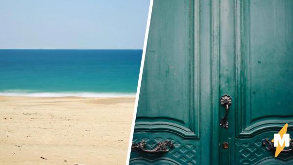 Отдыхающий шёл по пляжу и понял: он в мире Роланда из «Тёмной башни». Его встретила дверь в другую реальность