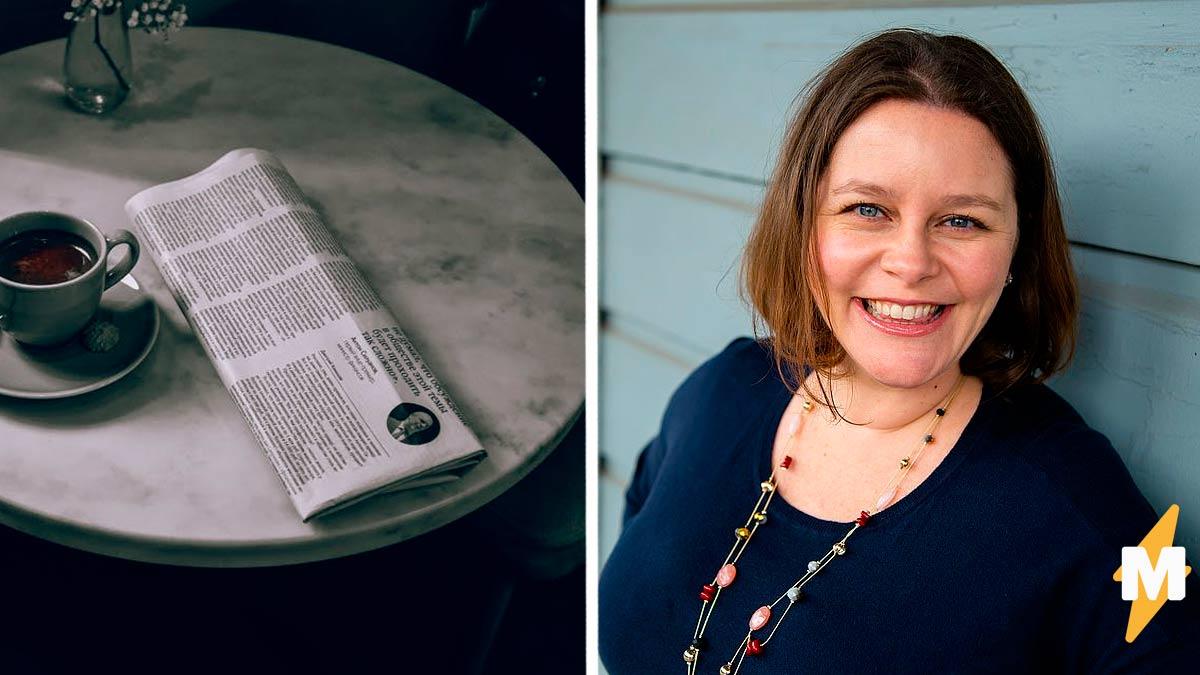 Писательница увидела незнакомку в газете и не поверила глазам. Перед ней была её копия, но на 20 лет старше