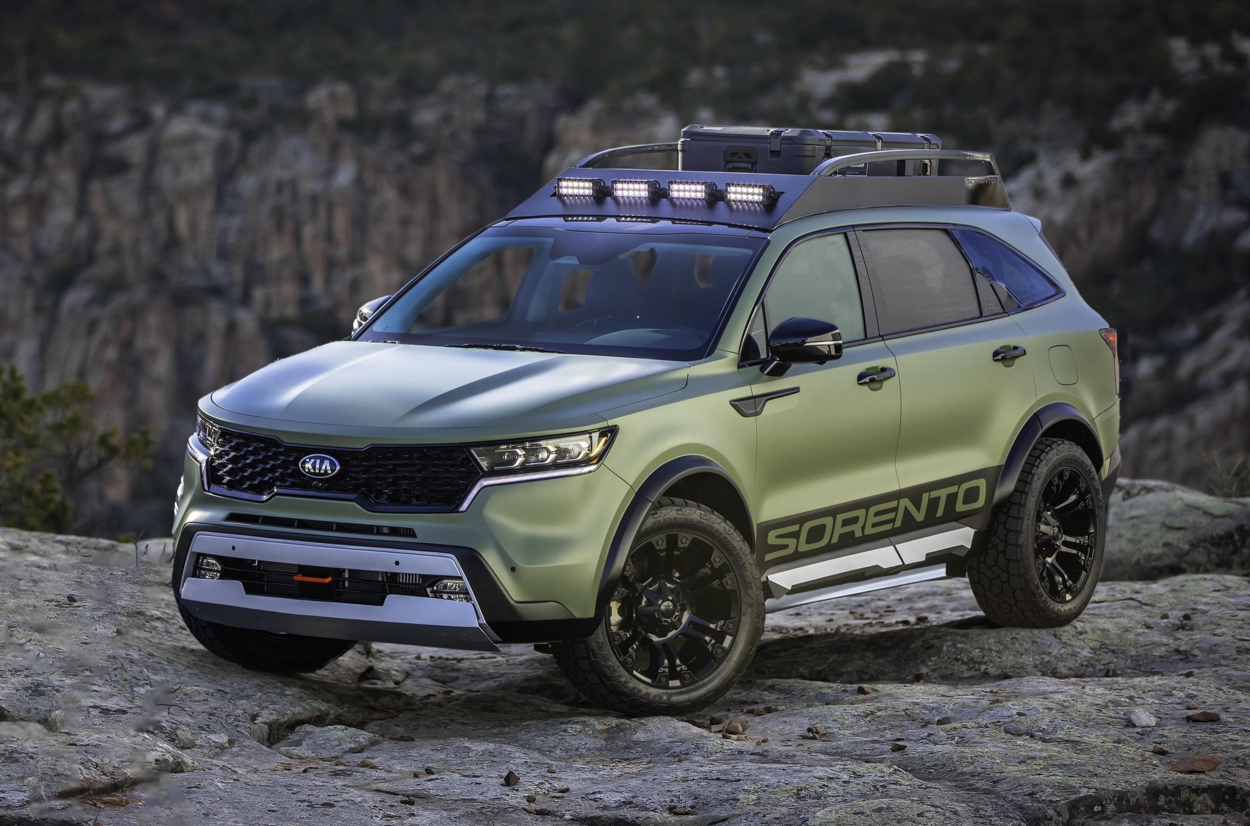 Kia представила два внедорожных варианта нового Sorento
