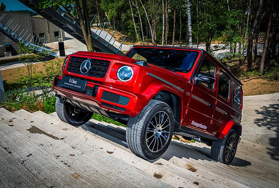 Стали известны сроки дебюта электрического Mercedes-Benz G-Class