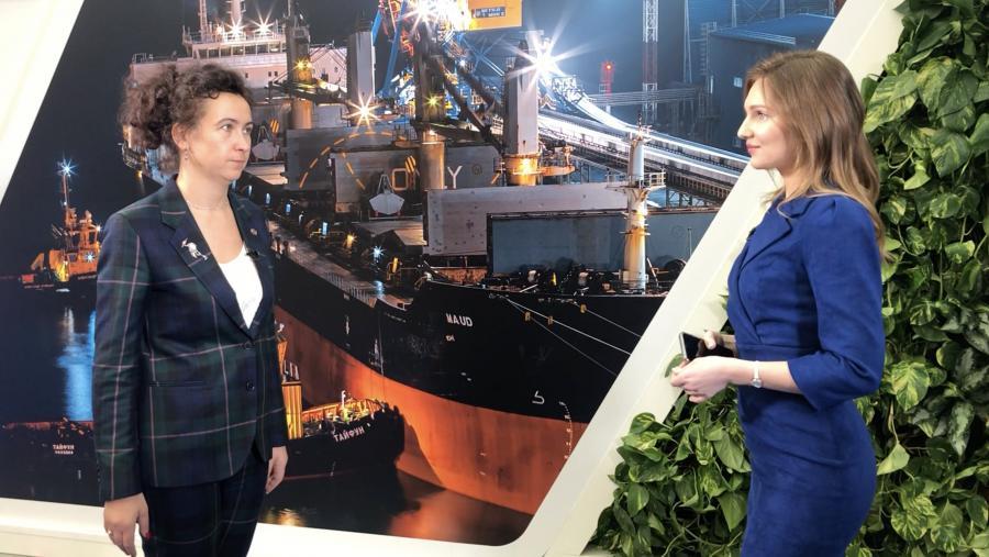 Ирина Ольховская: «Мы синхронизировали инвестиции в железнодорожную и портовую инфраструктуру»