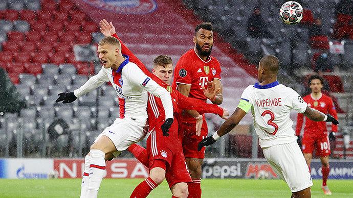 Дубль Мбаппе помог «ПСЖ» победить «Баварию» в первом четвертьфинальном матче Лиги чемпионов