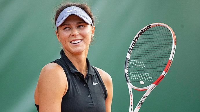 Вихлянцева завершила выступление на турнире в Палермо