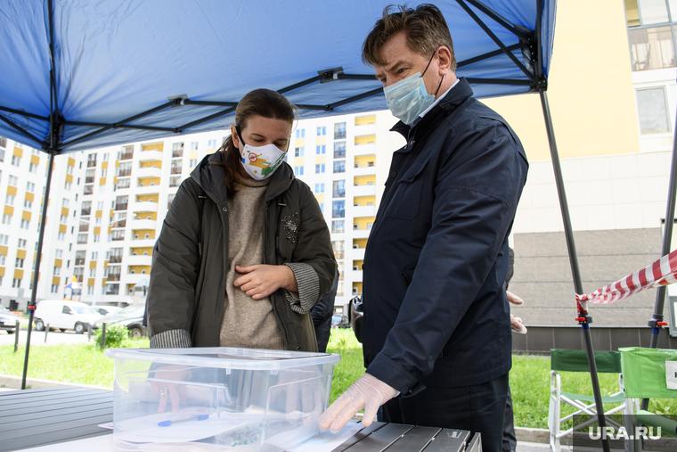 В Свердловской области не смогли проголосовать больные COVID