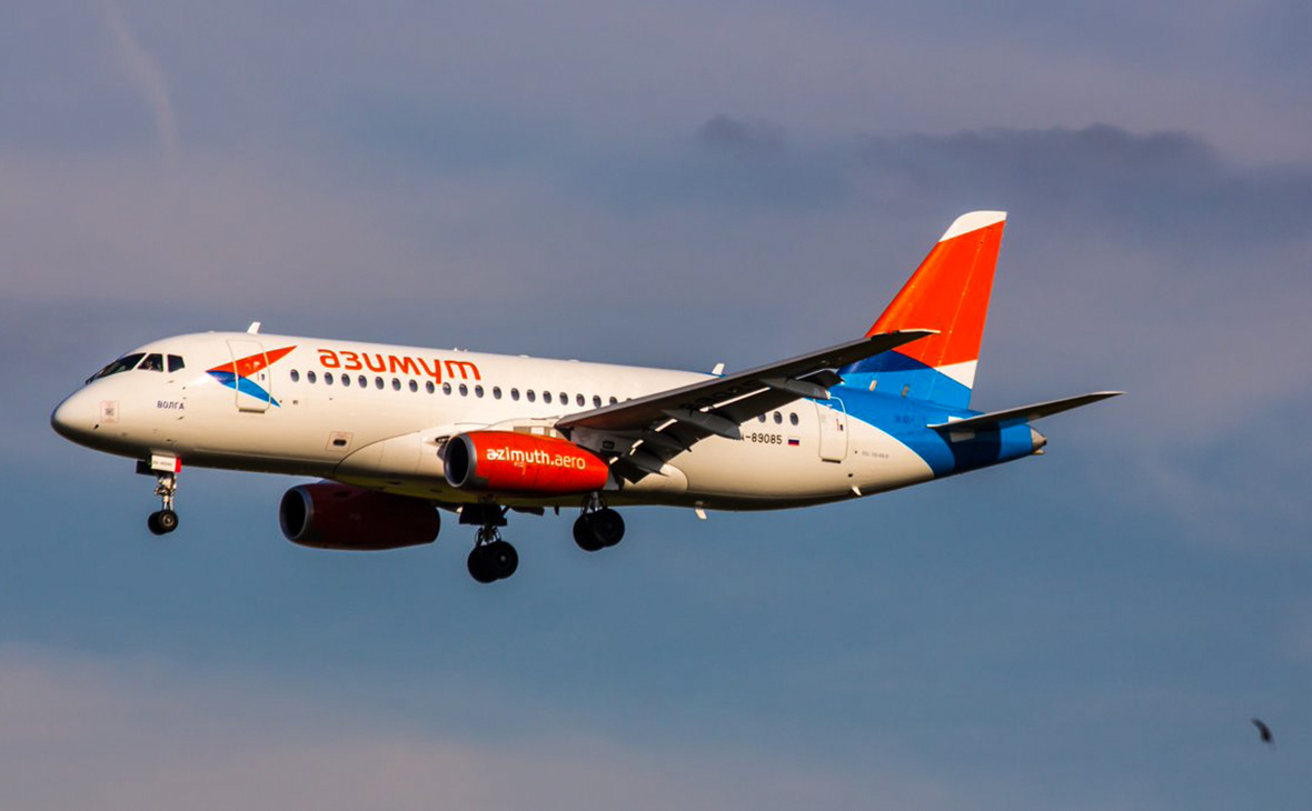 Летевший в Самару из Краснодара самолет подал сигнал бедствия