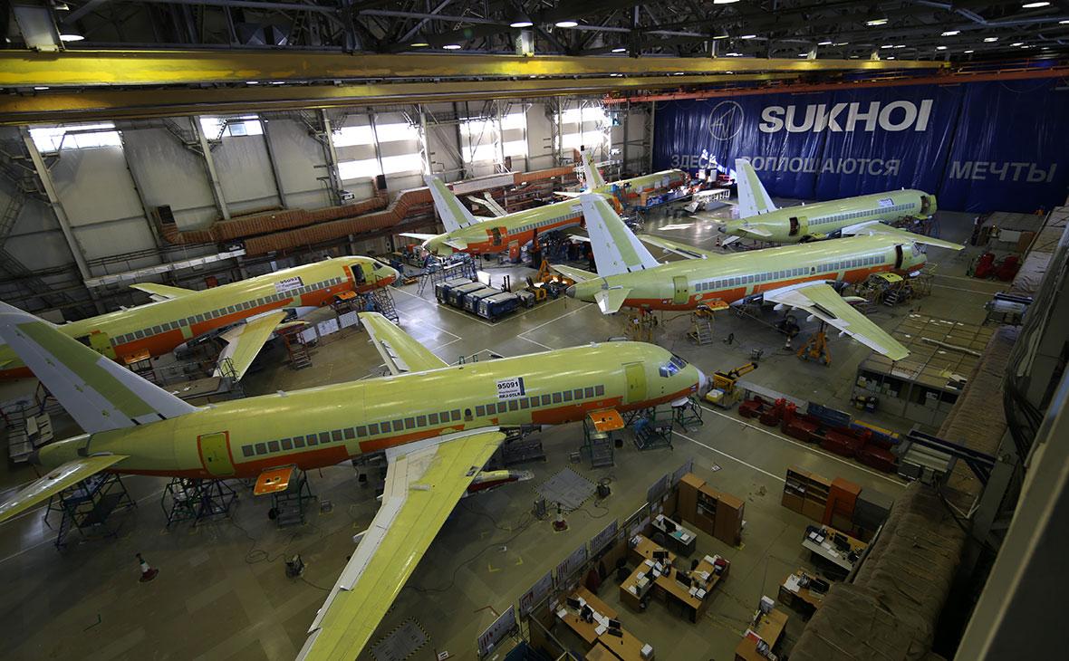 На разработку нового Sukhoi Superjet потратят до 130 млрд руб.