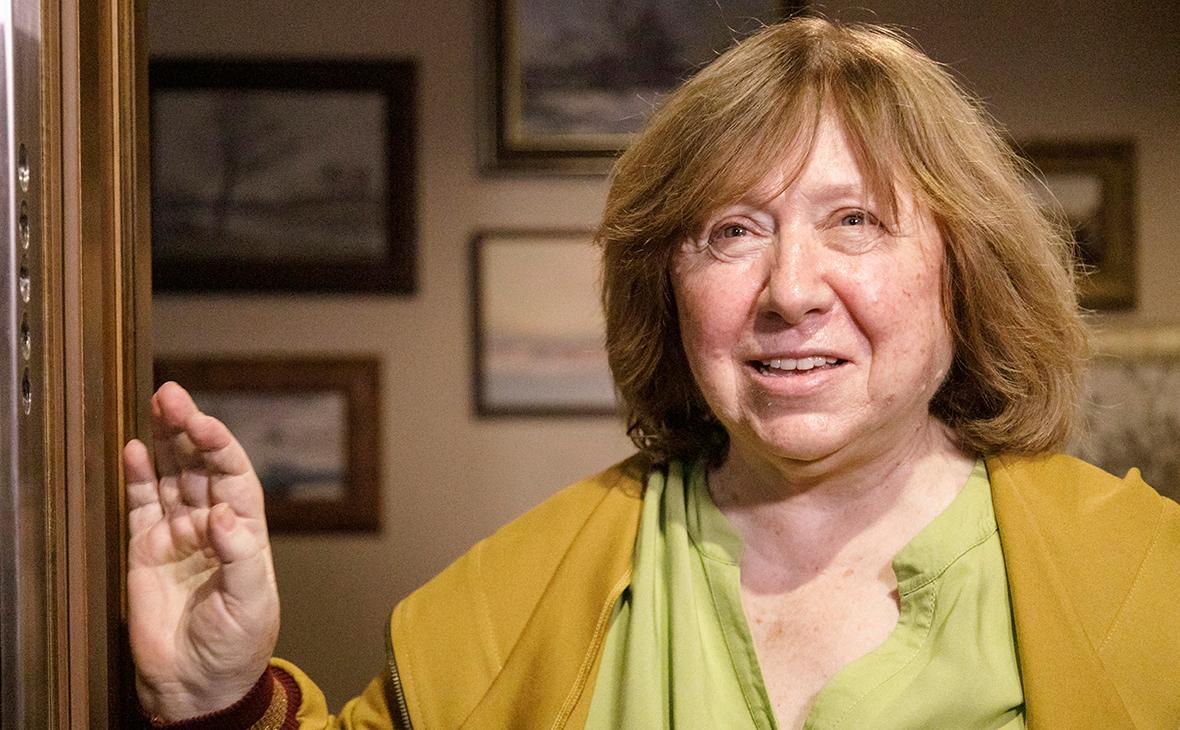 Алексиевич сообщила о новом тайном совете белорусской оппозиции