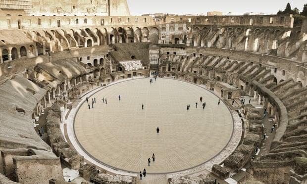 В центре Колизея появится высокотехнологичная арена