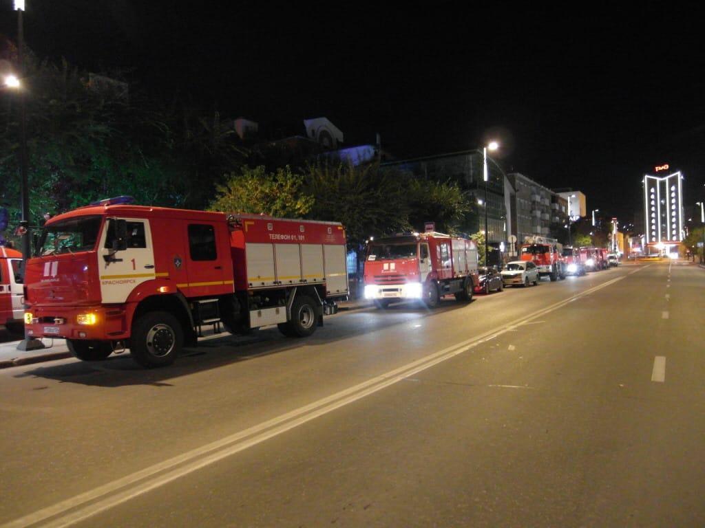 Четыре человека погибли при пожаре в наркологической клинике в Красноярске