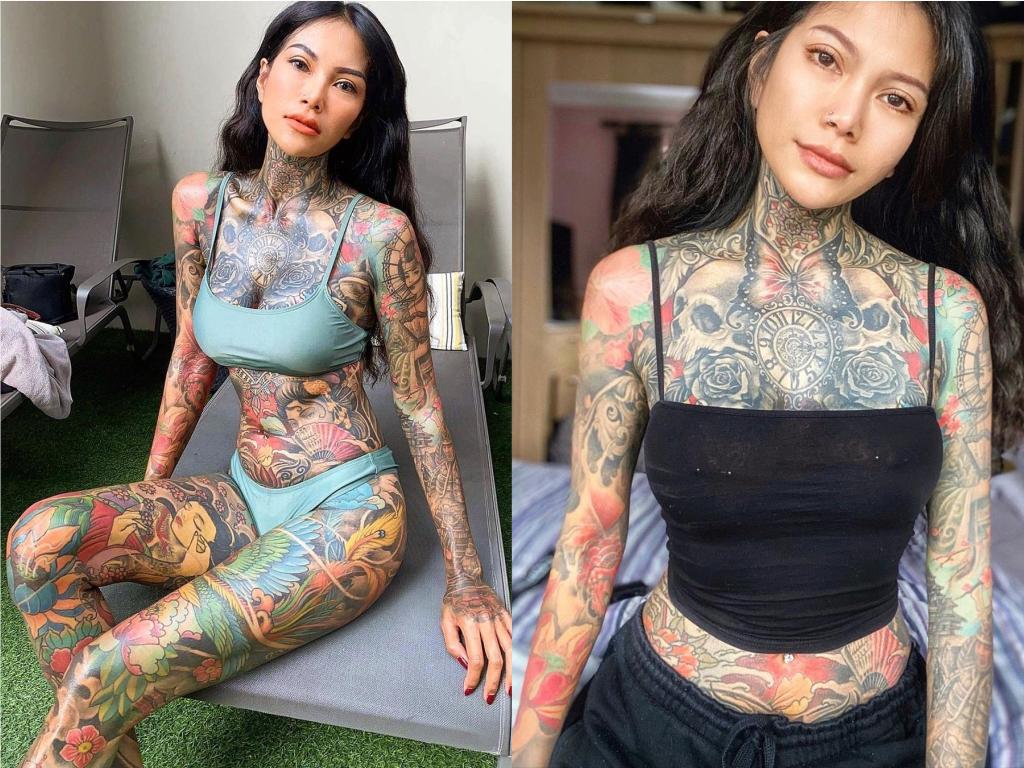 Девушку несправедливо обвиняют в наркоторговле из-за того, что 98% её тела покрыто татуировками